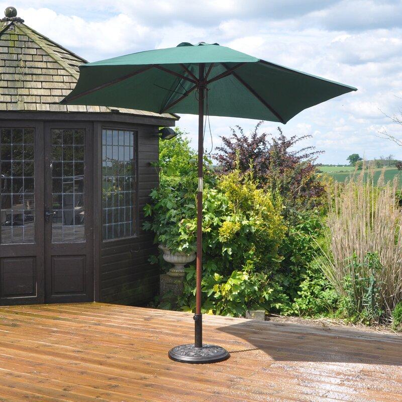 kingfisher 2 4 m marktschirm bewertungen. Black Bedroom Furniture Sets. Home Design Ideas