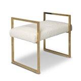 Upholstered Bench by Jonathan Adler