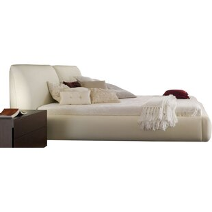 New Pavo Upholstered Platform Bed by Rossetto USA