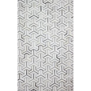Costanza Hand-Woven Gray Area Rug by Corrigan Studio