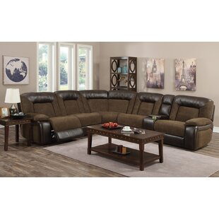 Emery Reclining Sectional Red Barrel Studio