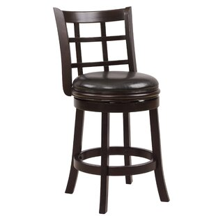 Scotti 24 Swivel Bar Stool Winston Porter