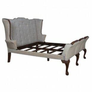 Annette King Upholstered Sleigh Bed