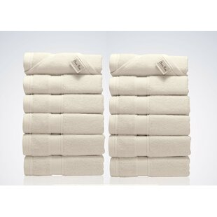 Lint Free Turkish Cotton Washcloth (Set of 12)