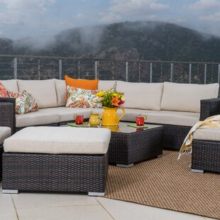 Fleming 10 Piece Sectional Set with Cushions