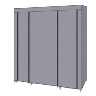 Falgoust 59 W Closet Organizer Wardrobe Portable Shelves