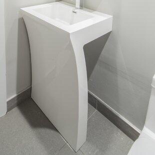 bathroom pedestal sinks. Cedar Falls 22\ Bathroom Pedestal Sinks