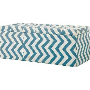 Zarah Upholstered  Flip top Storage Bench by Latitude Run