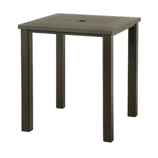 Sebrina Square Aluminum Bar Table