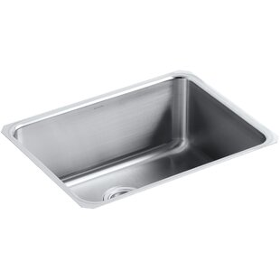 Undertone Preserve 23 L x 17-1/2 W 9-13/16 Medium Under-Mount Single-Bowl Kitchen Sink by Kohler