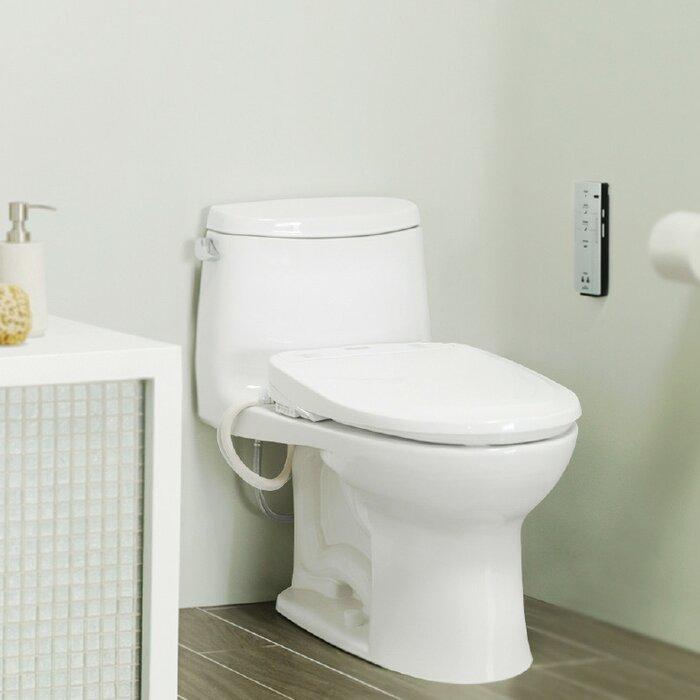 toto washlet s300e round toliet seat bidet wayfair ca