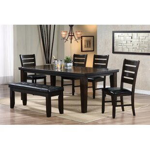 Pursell 6 Piece Dining Set Alcott Hill