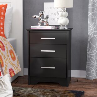 Zipcode Design Oleanna 3 Drawer Night Stand