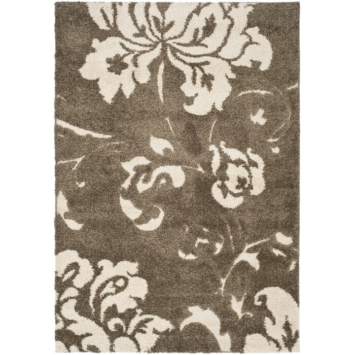 Flanery Dark Beige Area Rug