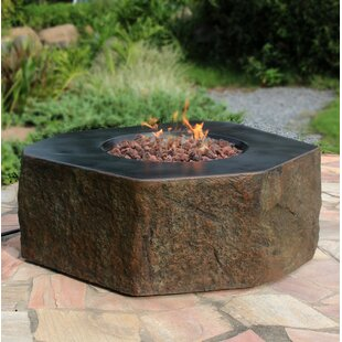 Carlisa Concrete Fire Pit Table
