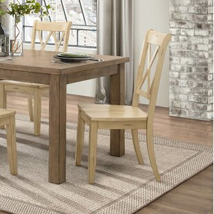 Cheryll Solid Wood Dining Chair (Set of 2)
