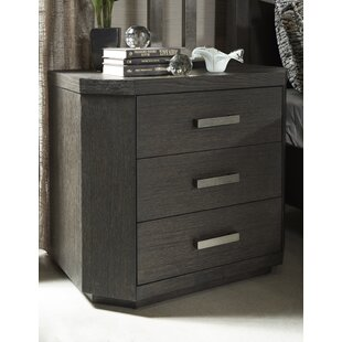 Fairfax Home Collections Tribeca Studio 3 Drawer Nightstand