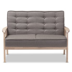 Calla Mid Century Loveseat by Latitude Run