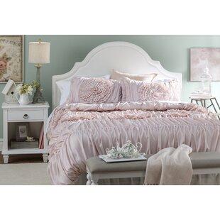 Marvelous Oropeza 3 Piece Pink Blush Comforter Set