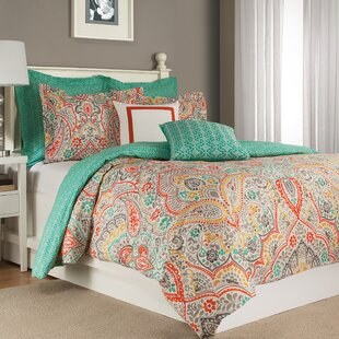 Hochstetler 100% Cotton Reversible Duvet Cover Set