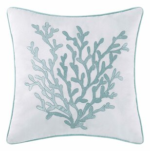 Foshee Embroidered Throw Pillow