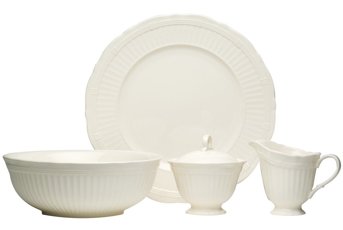 Red Vanilla Tuscan Villa 4 Piece Place Setting, Service for 1 ...