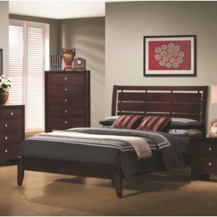 Bryce Panel Bed by Charlton Home