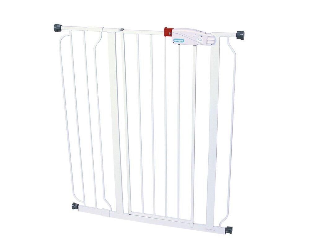 regalo easy step extra tall gate u0026 reviews wayfair