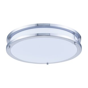 Inexpensive LED Surface Flush Mount By Living District