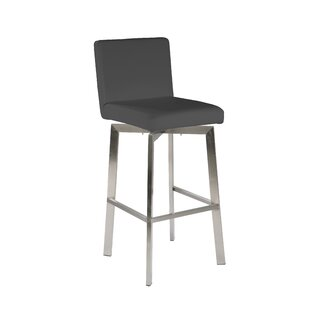Lucio 30 Swivel Bar Stool Brayden Studio