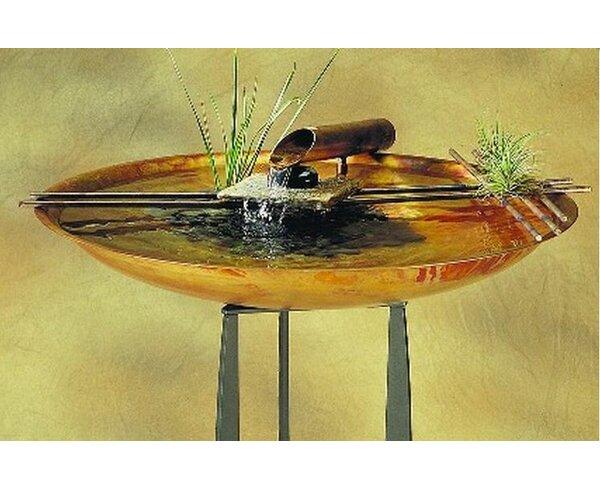 Nayer Kazemi Copper Nature Bowl Large Tabletop Fountain   Wayfair