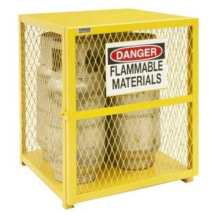 33.5 H x 30 W x 30 D Vertical Cylinder Storage Cabinet by Durham Manufacturing
