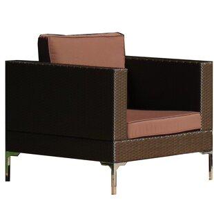 Brayden Studio Kelton Patio Chair with Cu..