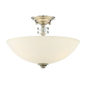 Renningers 3-Light Semi Flush Mount