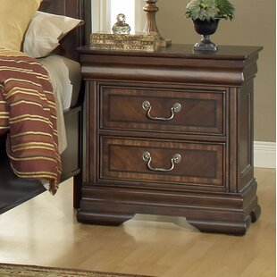 Canora Grey Cinderford 2 Drawer Nightstand