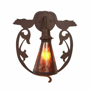 Bavarian 1-Light Outdoor Wall lantern by ..