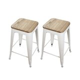 Calanthe 24 Bar Stool (Set of 2) by Williston Forge