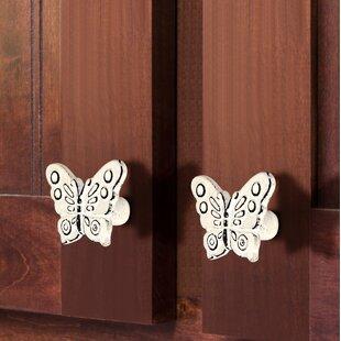 Patina Butterfly Novelty Knob (Set of 8)