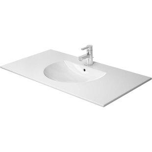 Top Reviews Darling New Ceramic Rectangular Vessel Bathroom Sink with Overflow By Duravit