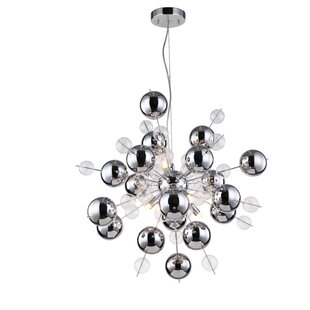 Orren Ellis Louie 8-Light Sputnik Chandelier