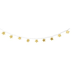 10 Yellow Star String Lights (Set Of 2) By The Seasonal Aisle