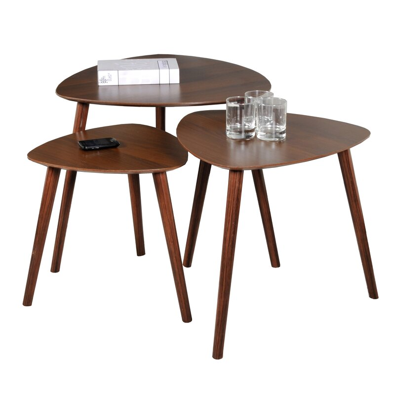 Pham 3 Piece Nest Of Tables by George Oliver