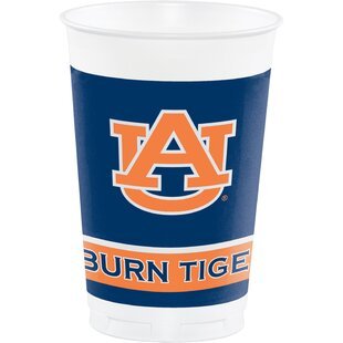 NCAA Plastic Disposable Cup (Set of 24)