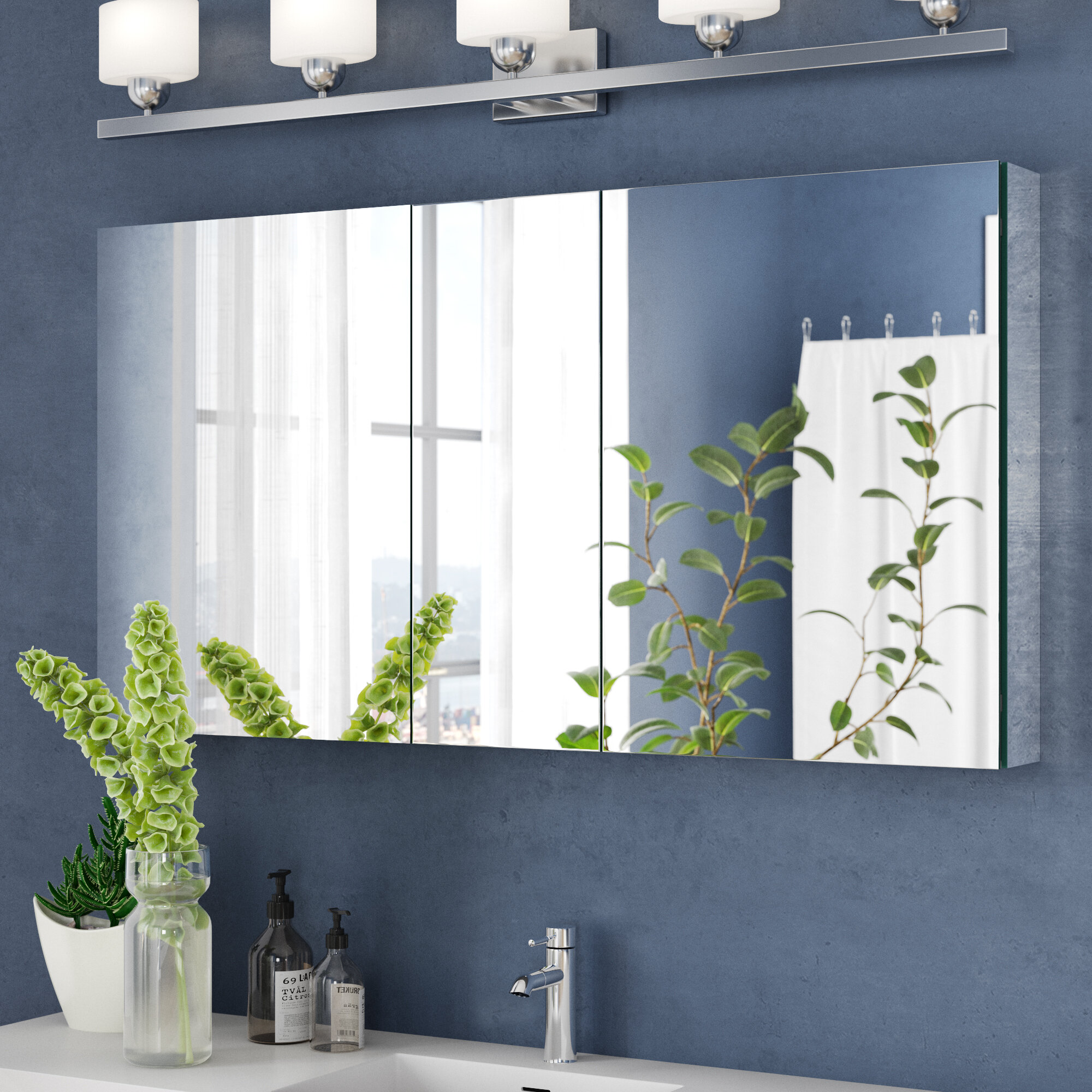 Tri View Medicine Cabinets You Ll Love In 2020 Wayfair