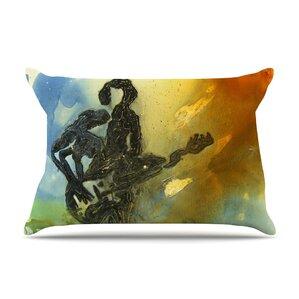 Josh Serafin 'Rhythm' Guitar Player Pillow Case