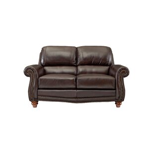Dorcas Leather Loveseat