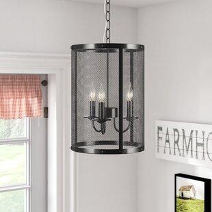 Rosiclare Round 3-Light Foyer Pendant by Laurel Foundry Modern Farmhouse