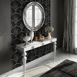 Saph Console Table and Mirror Set by Hispania Home