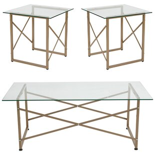 Stagner 3 Piece Coffee Table Set