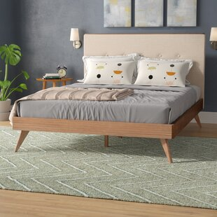 Buy clear Luther Upholstered Platform Bed by Trule Teen Reviews (2019) & Buyer's Guide